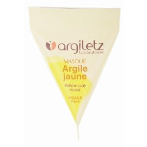 Masque argile jaune - berlingot de 15 ml