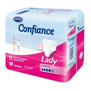 Hartmann Confiance Lady absorption 5G Medium - Sachet 12