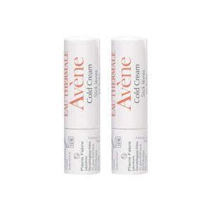 Avene cold cream stick lèvres nourrissant stick 4 g lot de 2