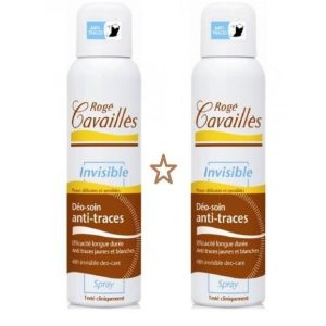 Roge cavailles deo soin invisible lot de 2 sprays 2x150ml