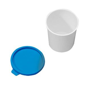 Crachoir + couvercle plastique à usage unique - Lot de 10