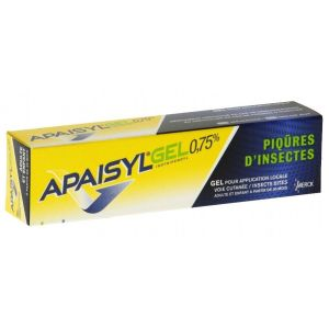 APAISYLGEL 0,75 POUR CENT GEL POUR APPLICATION LOCALE 1 tube(s) en aluminium verni de 30 g