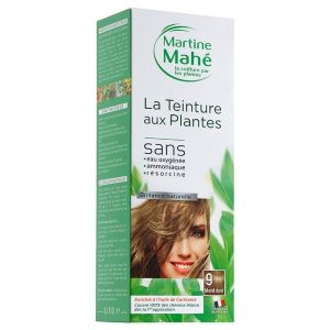 Martine Mahe - Teinture aux Plantes 5 applications 250 ml N°9 Blond Doré