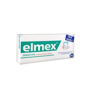 Elmex Dentifrice Sensitive Lot de 2 x 75 ml
