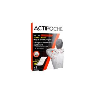 Cooper Actipoche 3 Patchs Chauffants