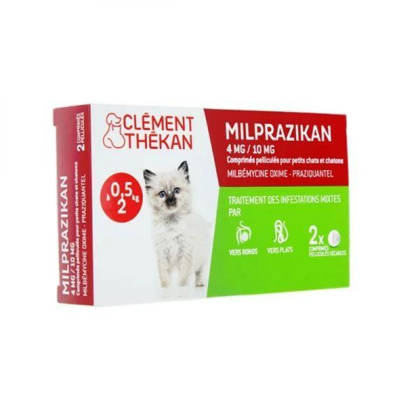 Milprazikan p.ct 410mg cpr 2