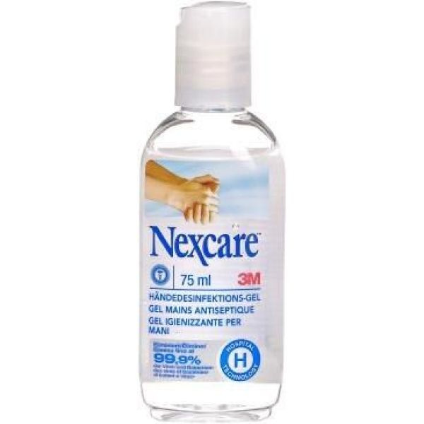Nexcare gel antiseptique mains sans rinçage 75 ml