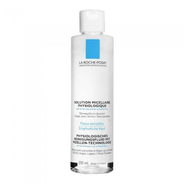 La Roche-Posay SOLUTION MICELLAIRE Physiologique 200 ml