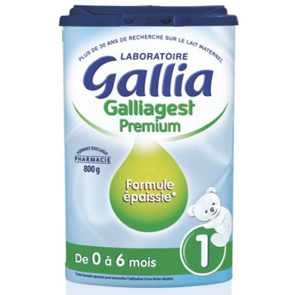 Gallia 1 galliagest 0-6 mois 800g