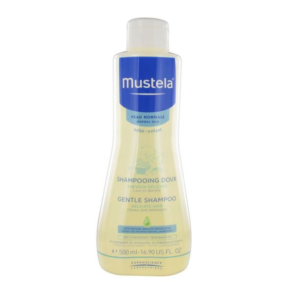 Mustela Bebe Shampooing Doux Cheveux Delicats Peaux Normales 500Ml