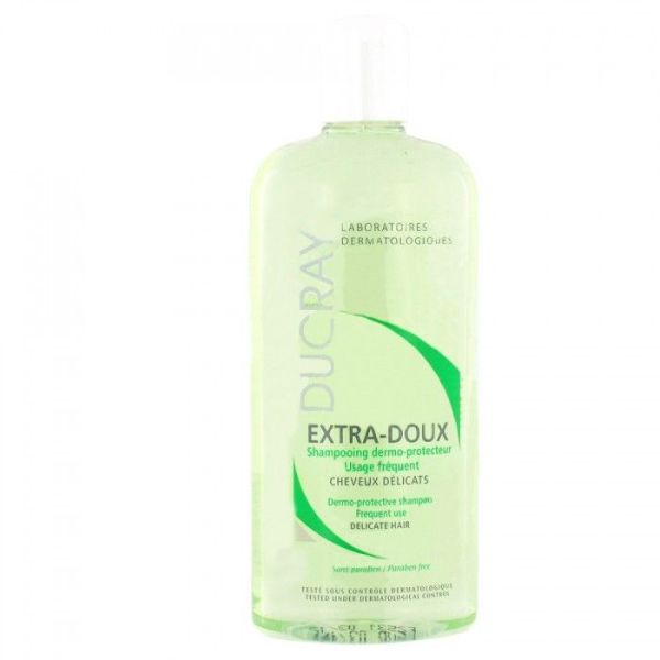 Ducray extra-doux shampooing traitant usage frequent 400ml